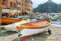 My favourite boat moored on Piazza Martiri dell'Olivetta