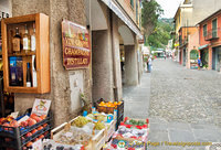 Shopping street in Portofino