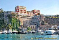 Arriving in Sorrento