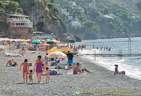 One of the many Positano beaches