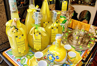 Limoncello and pottery