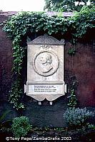 Relief of John Keats