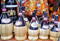 The famous Chianti wines