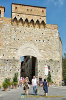 Porta San Giovanni, one of the city gates