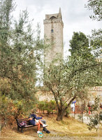One of the San Gimignano towers