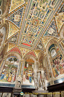 Piccolomini Library Ceiling