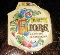 Fiore panforte packaging
