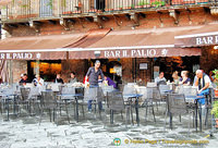 Bar Il Palio, a nice place to have a coffee break