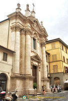 A Siena church