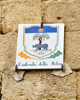 Emblem of the Contrada della Selva (the woodland)