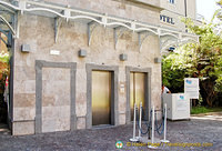 Sorrento lift at Piazza Francesco Saverio Garguilo