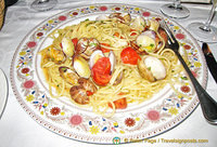 My linguine vongole at Zi-Ntonio Mare was delicious