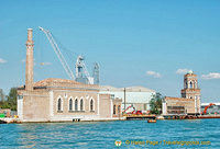 View from the Arsenale shipyard