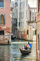 One of the many romantic views of Venice