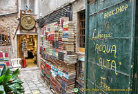 More than a bookshop, Libreria Aqua Alta is also a Venice attraction