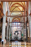 Interior of Santi Giovanni e Paolo