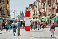 Via Garibaldi - a broad and busy street created by Napoleon