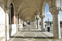 Doge's Palace Southern colonnade