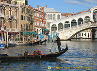 A Gondola Ride on the Grand Canal