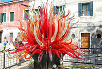 Murano glass artwork