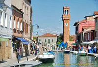 View of Murano square