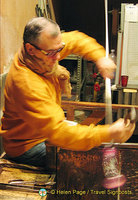 Murano glassmaking demonstration at Vecchia Murano