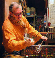 Murano glass demonstration
