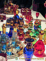 The more traditional Murano glassware