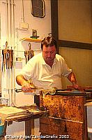Murano glassblowing demonstration