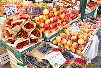 Beautiful fruits on sale