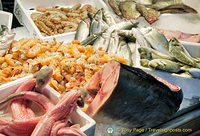 An array of seafood