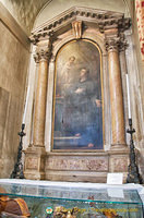 S. Antonio da Padova by Leandro Gavagnin. This altar formerly belonged to the Oil Vendors' guild.