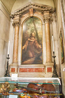 Altar in San Giametto