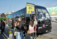 Catching the Veneto Designer Outlet shuttle at Piazzale Roma