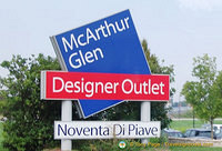 The Noventa outlet is a part of the McArthurGlen group