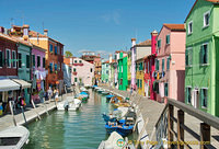 The colourful houses of Burano