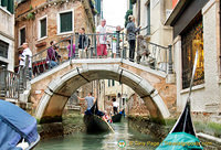 One of the many bridges of Venice
