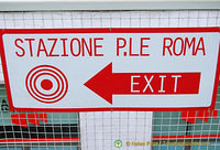 Piazzale Roma station exit