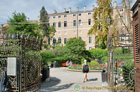 Giardini Reali - one of the few green spaces in Venice