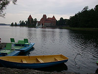 Lake Galvė and Trakai Castle