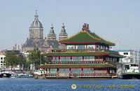 The Sea Palace - a famous floating Chinese restaurant