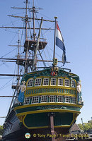 Replica of the Amsterdam, an East Indiaman
