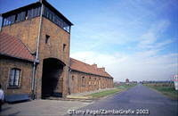 The Gate of Death at Auschwitz II-Birkenau