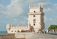 Belem Tower built in Manueline style