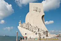 Monument to the Discoveries - shaped like prow of a ship