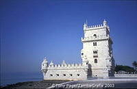 Belem Tower commemorates Vasco da Gama's expeditions