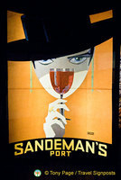 House of Sandeman port tasting