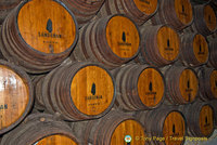 Sandeman were first company to brand their casks