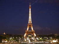 Paris' most famous landmark - The Eiffel Tower