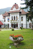 Sinaia, a Carpathian alpine resort